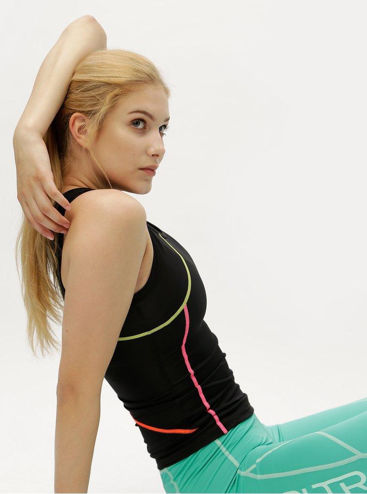 Černý sportovní top Kari Traa Lise