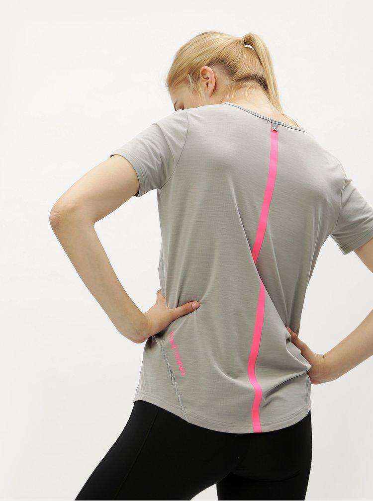 Šedé sportovní tričko Kari Traa Toril