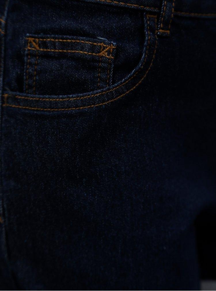 Tmavě modré kraťasy Dorothy Perkins Petite