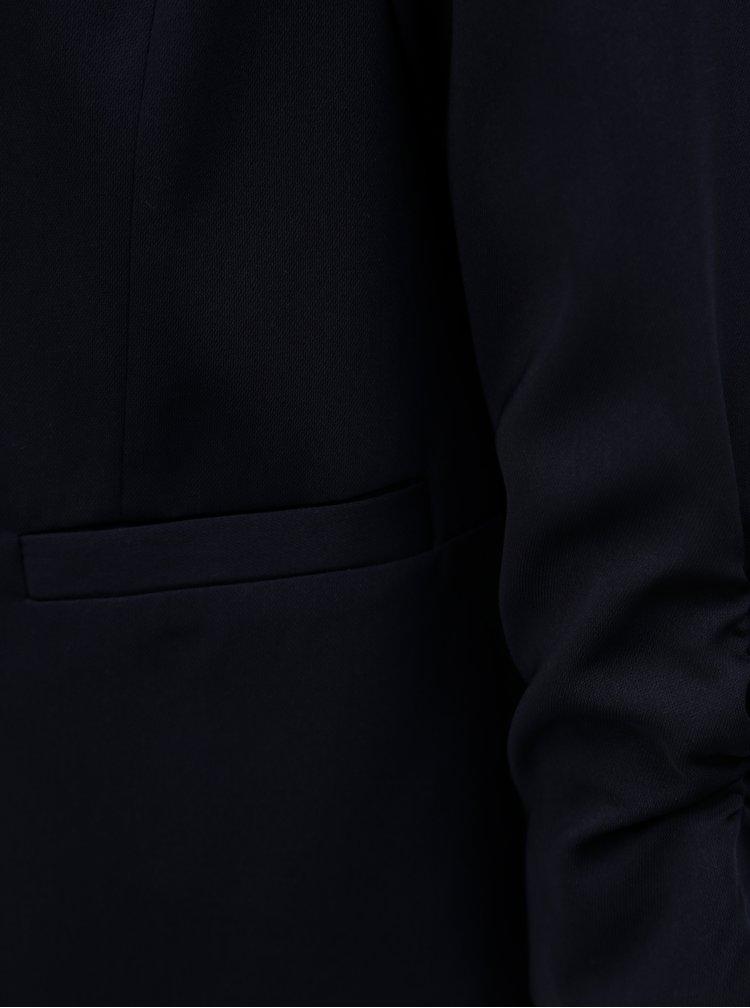 Tmavě modré sako s 3/4 rukávem Dorothy Perkins Petite