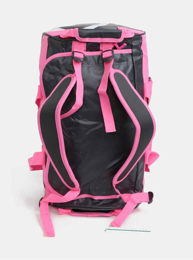 Šedo-růžová vzorovaná sportovní taška Kari Traa Kari