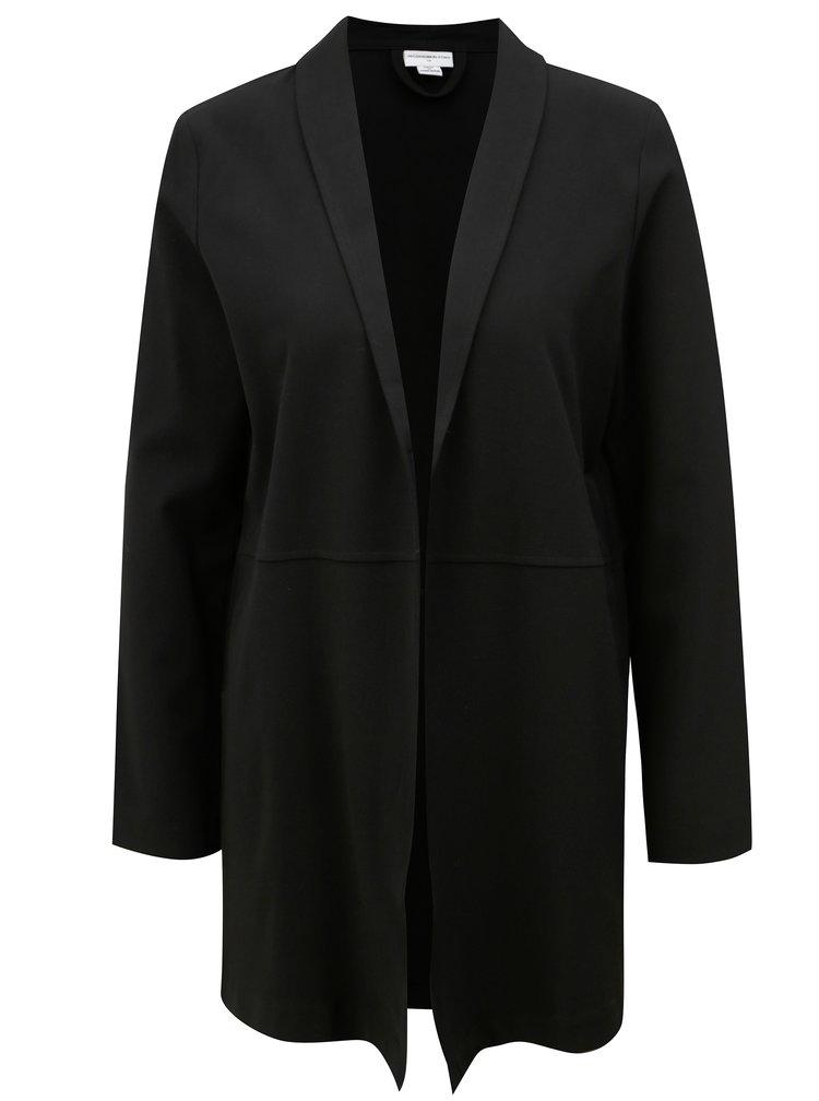 Černé dlouhé sako Jacqueline de Yong Bax