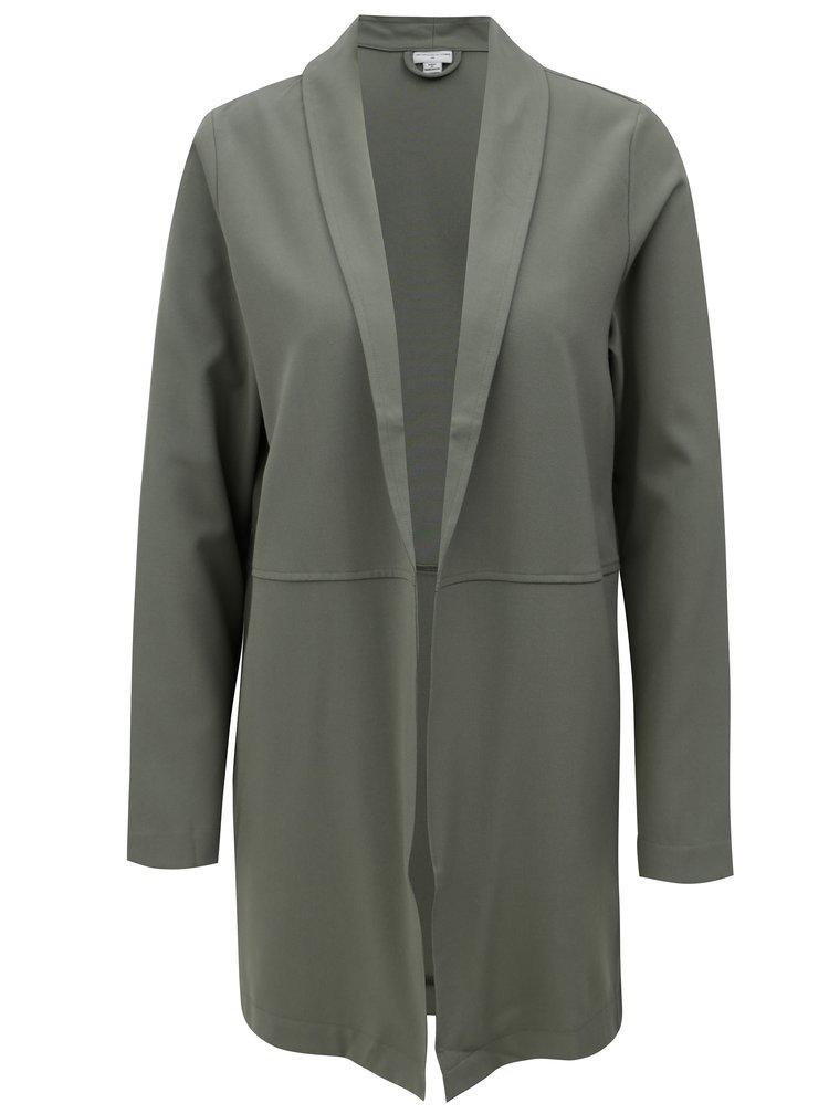 Zelené dlouhé sako Jacqueline de Yong Bax