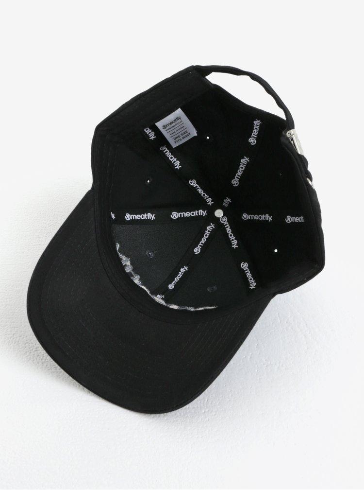 Šedo-černá pánská kšiltovka MEATFLY Coach
