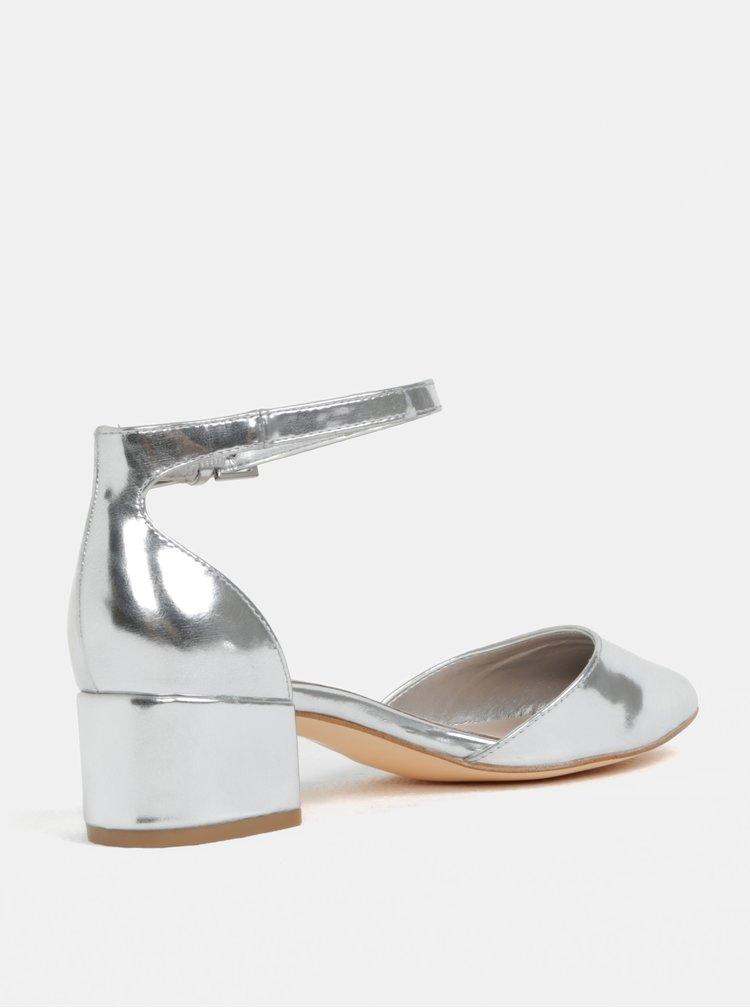 Sandálky ve stříbrné barvě ALDO Zulian