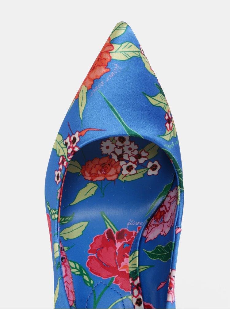 Modré květované lodičky ALDO Stessyf
