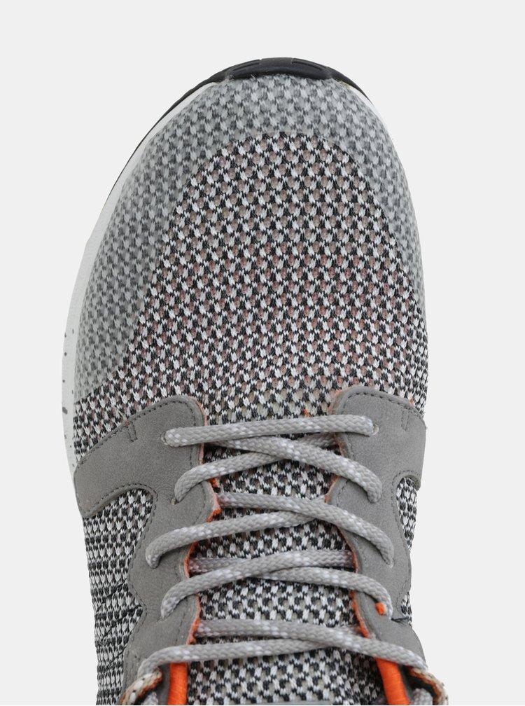Oranžovo-sivé pánske melírované tenisky ALDO Greiman