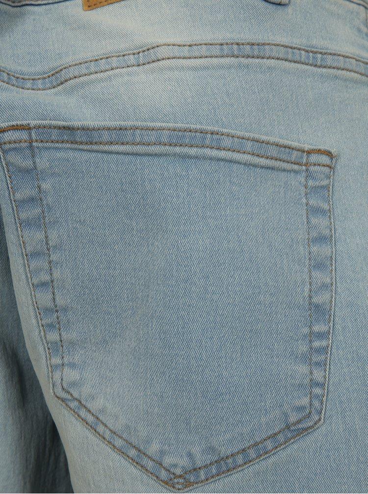 Světlé modré džínové kraťasy ONLY & SONS Sune