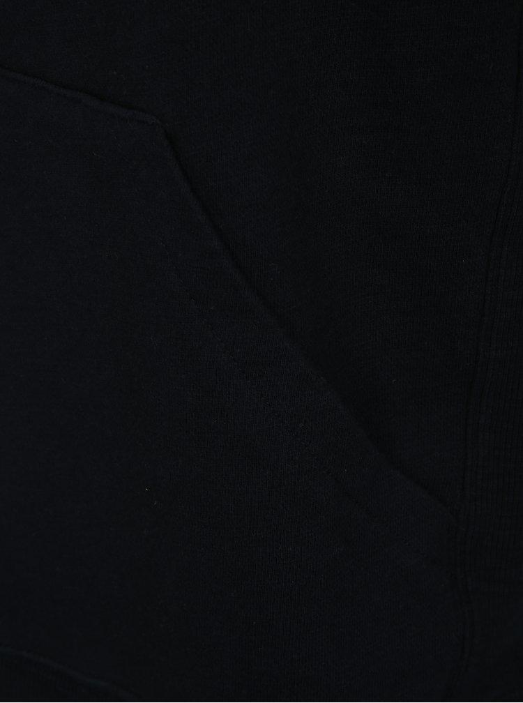 Tmavě modrá pánská mikina s kapucí Farah Ayr Slub