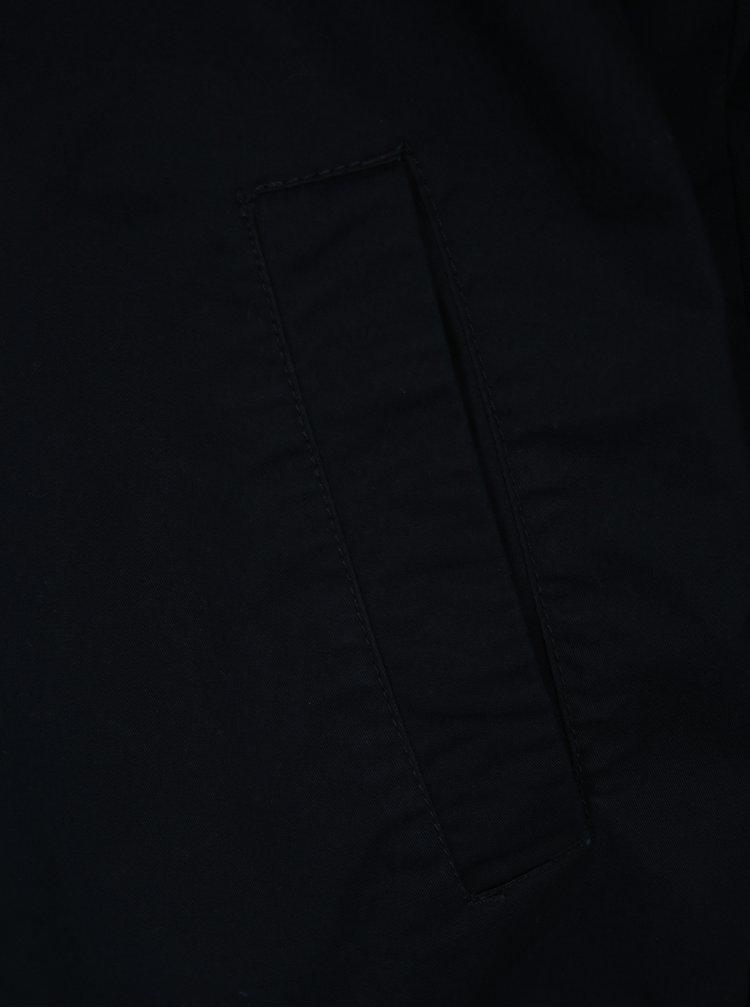 Tmavě modrá pánská bunda se zipem Farah Clacton