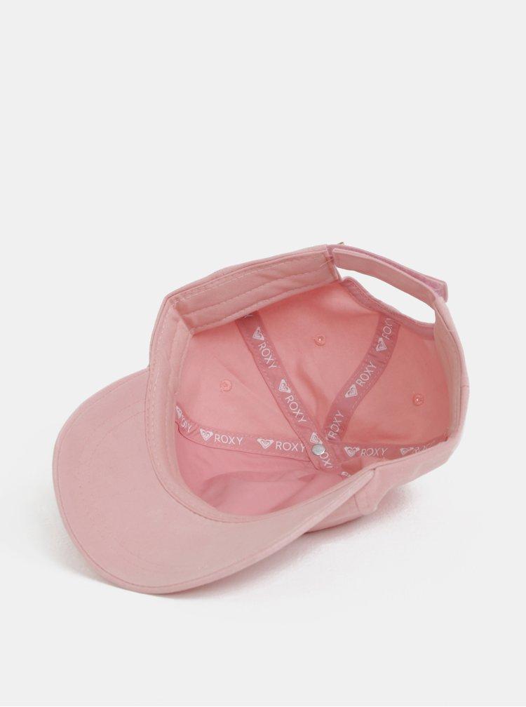 Světle růžová dámská kšiltovka Roxy Extra Innings