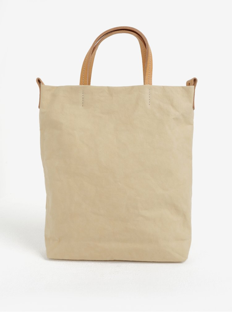 Světle žlutá kabelka UASHMAMA® Otti