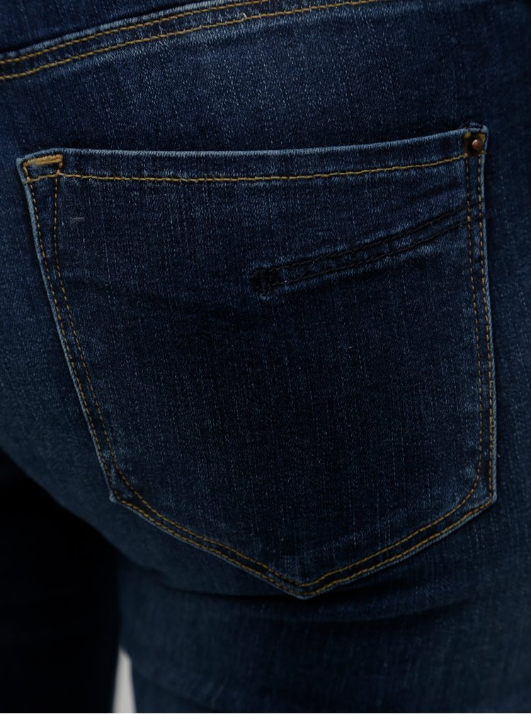 Tmavě modré dámské super skinny džíny Cross Jeans Adriana