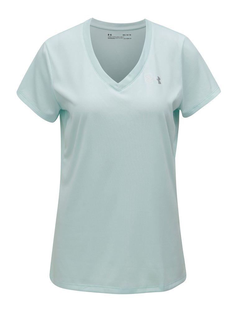 Mentolové dámské funkční tričko Under Armour Solid
