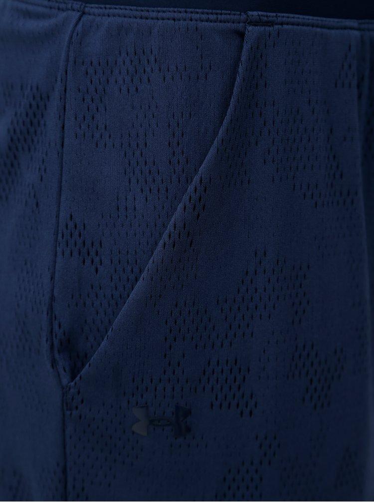 Tmavě modré 3/4 basic legíny Under Armour Vanish