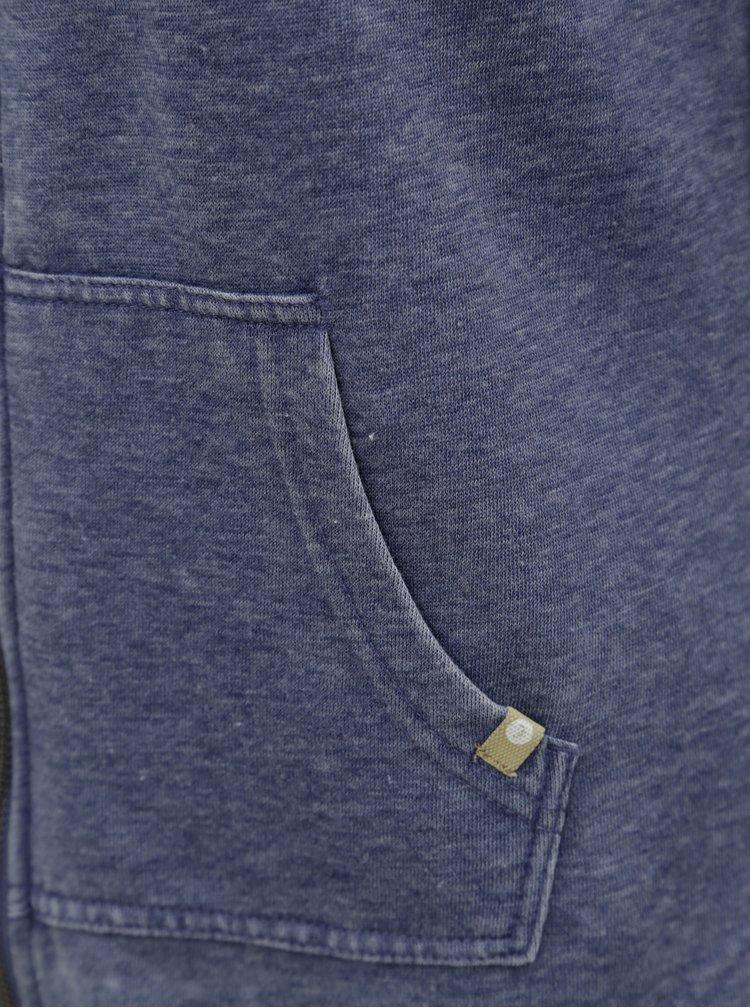 Modrá dámská mikina na zip Roxy Sunkissed