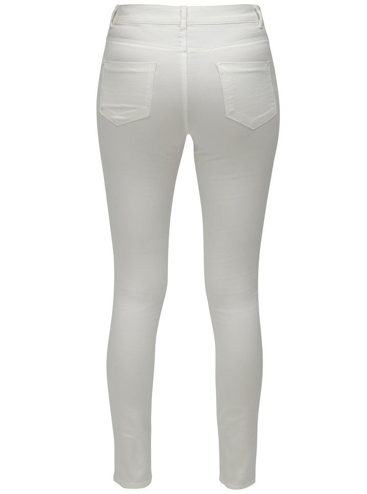 Bílé skinny džíny Dorothy Perkins