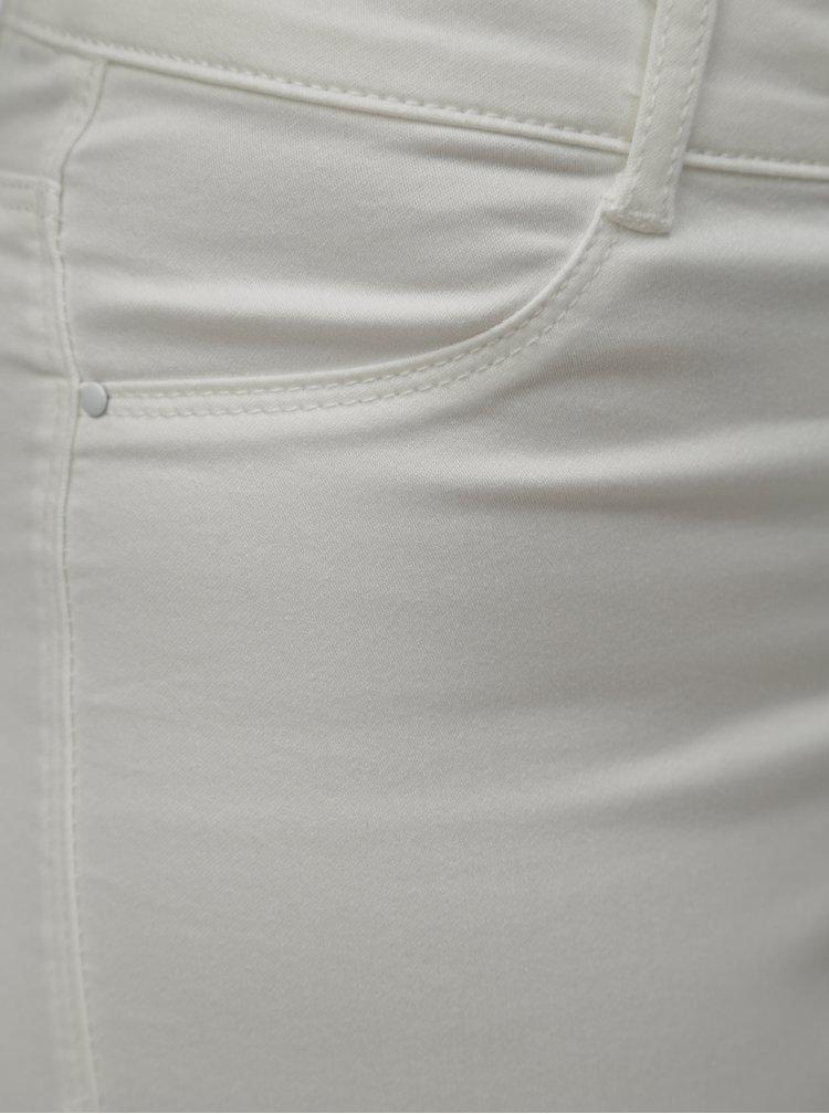 Blugi albi skinny din denim Dorothy Perkins Frankie