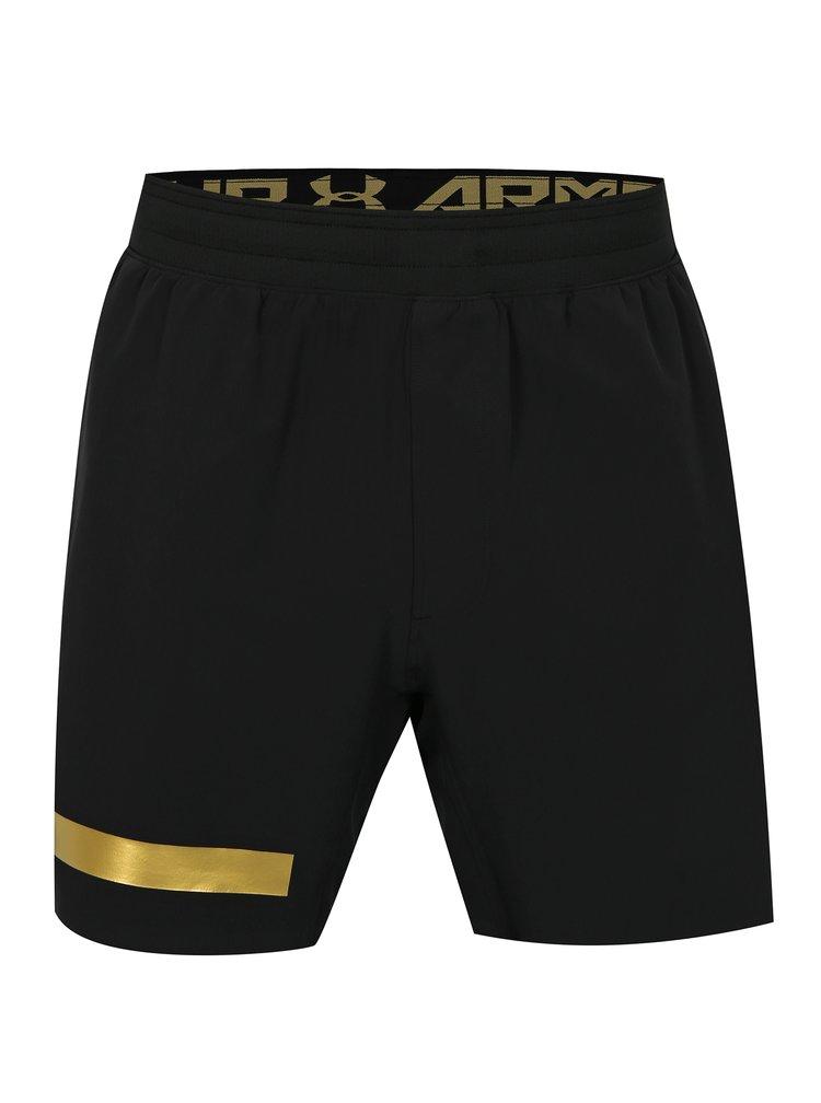 Pantaloni barbatesti scurti functionali negri Under Armour Perpetual