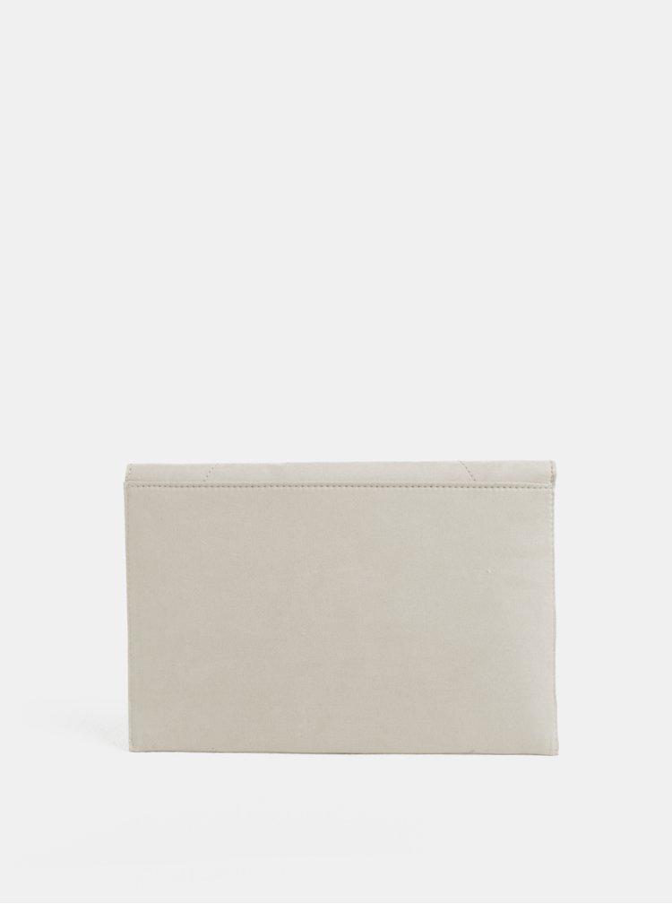 Krémová listovka v semišovej úprave Dorothy Perkins
