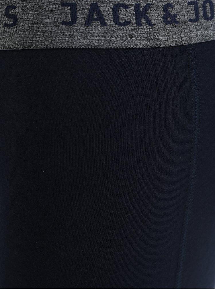 Sada dvou boxerek v tmavě modré barvě Jack & Jones Vincent