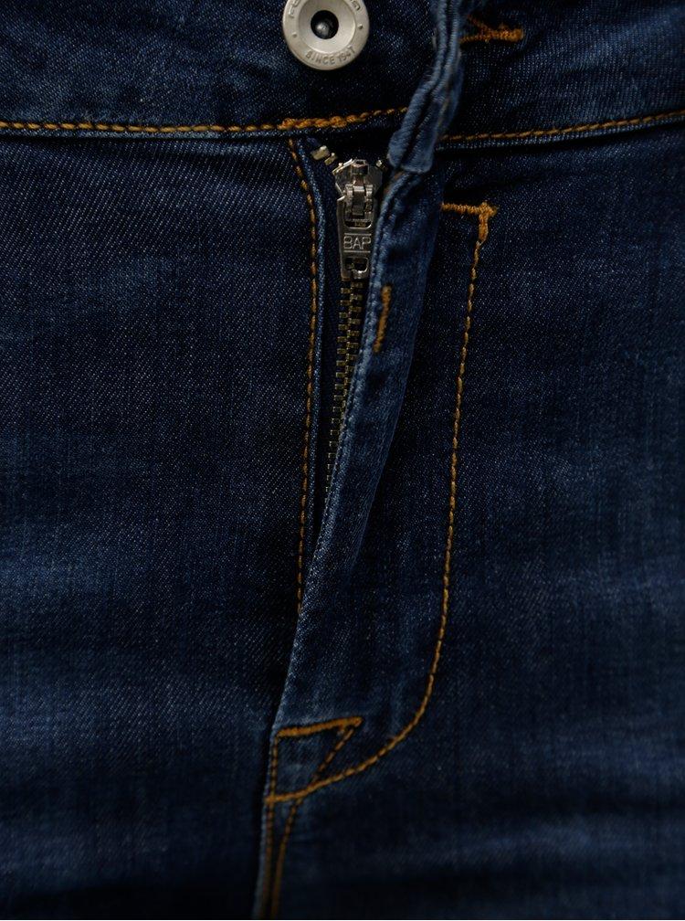 Tmavě modré slim džíny Fornarina Eva