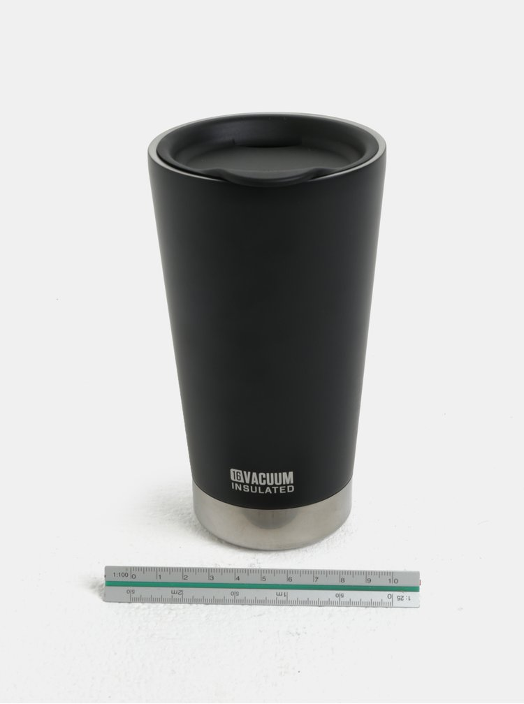 Černý termohrnek Klean Kanteen 473 ml