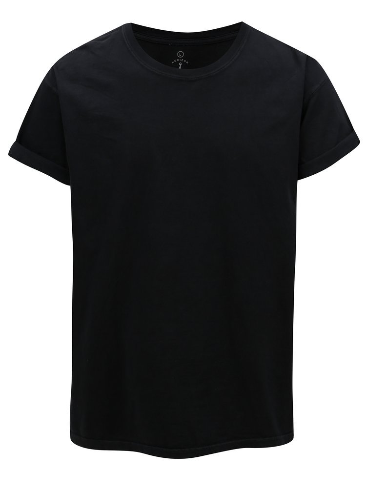 Tricou negru Mr.Sailor