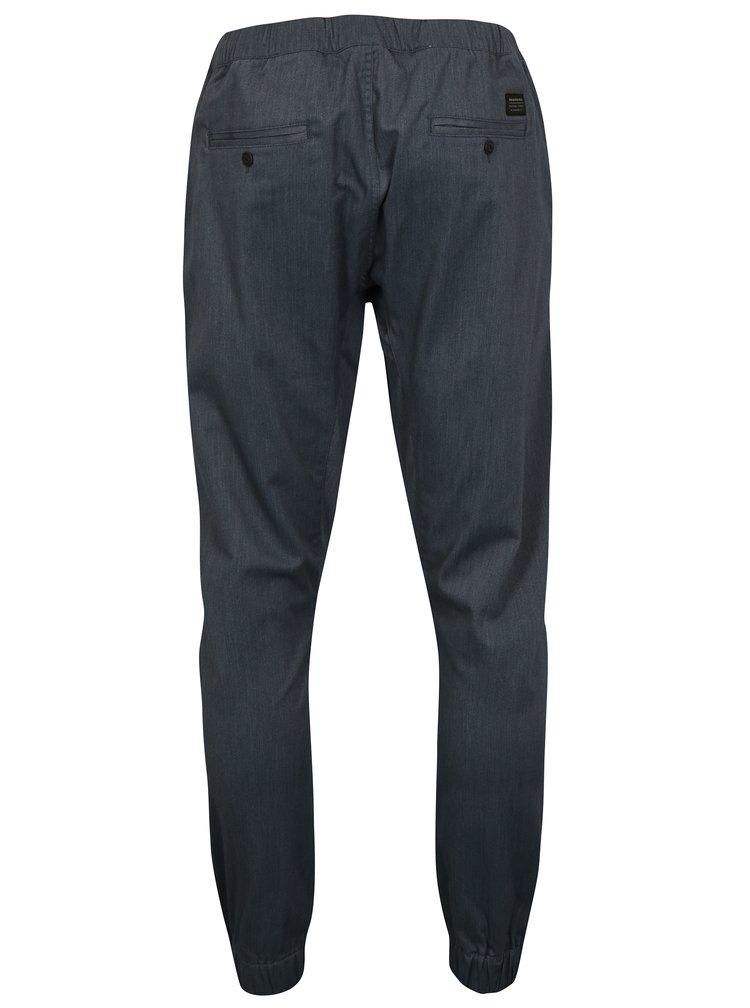 Šedé pánské kalhoty s gumou v pase Quiksilver