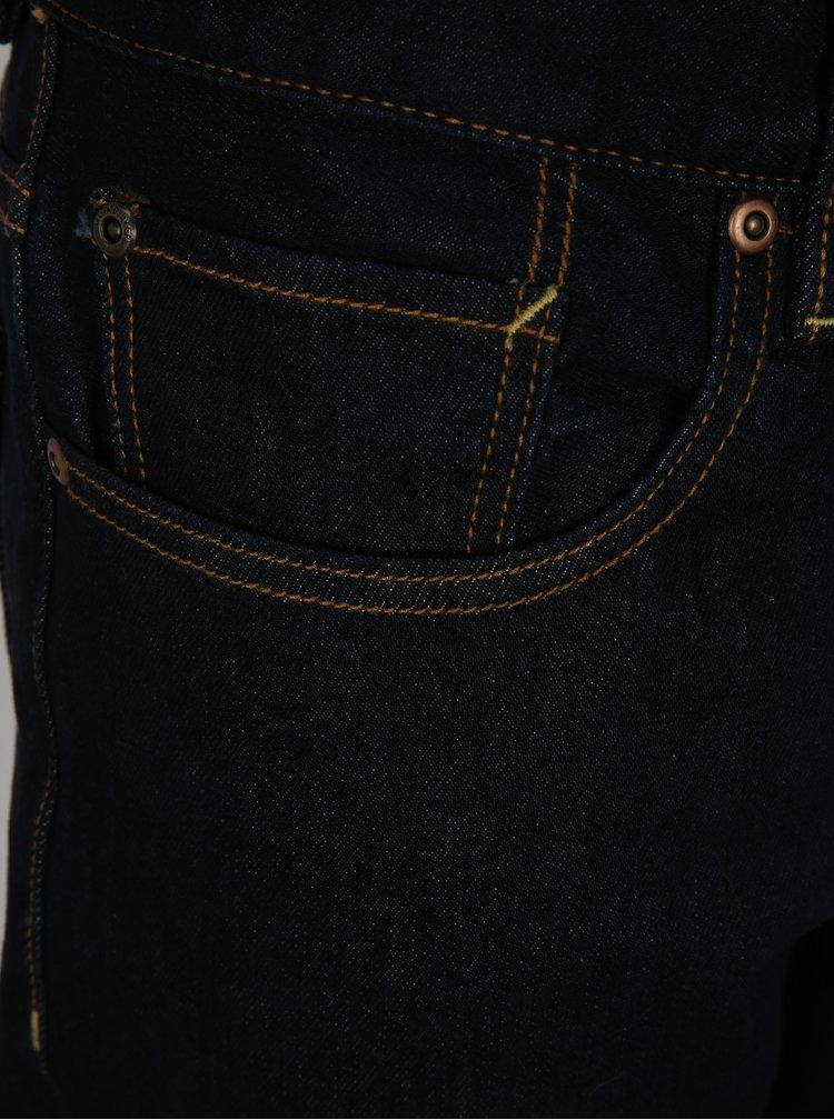 Tmavě modré pánské slim fit džíny Quiksilver