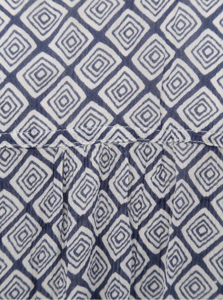 Rochie gri-albastru cu model Rip Curl