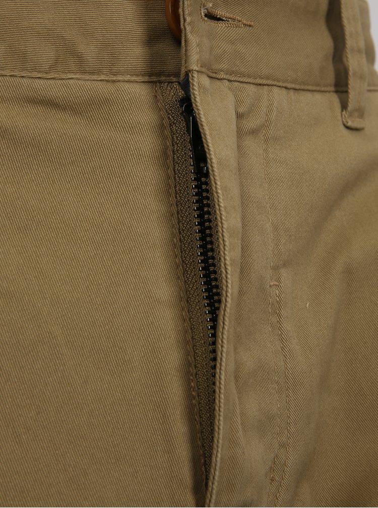 Béžové pánské slim fit chino kalhoty Quiksilver
