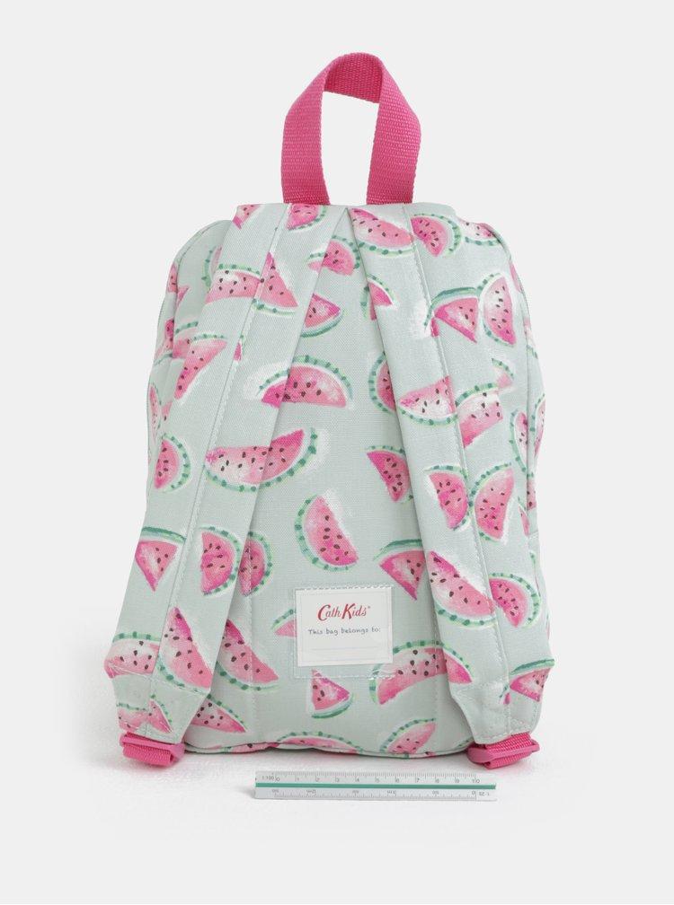 Světle zelený holčičí batoh s potiskem melounů Cath Kidston