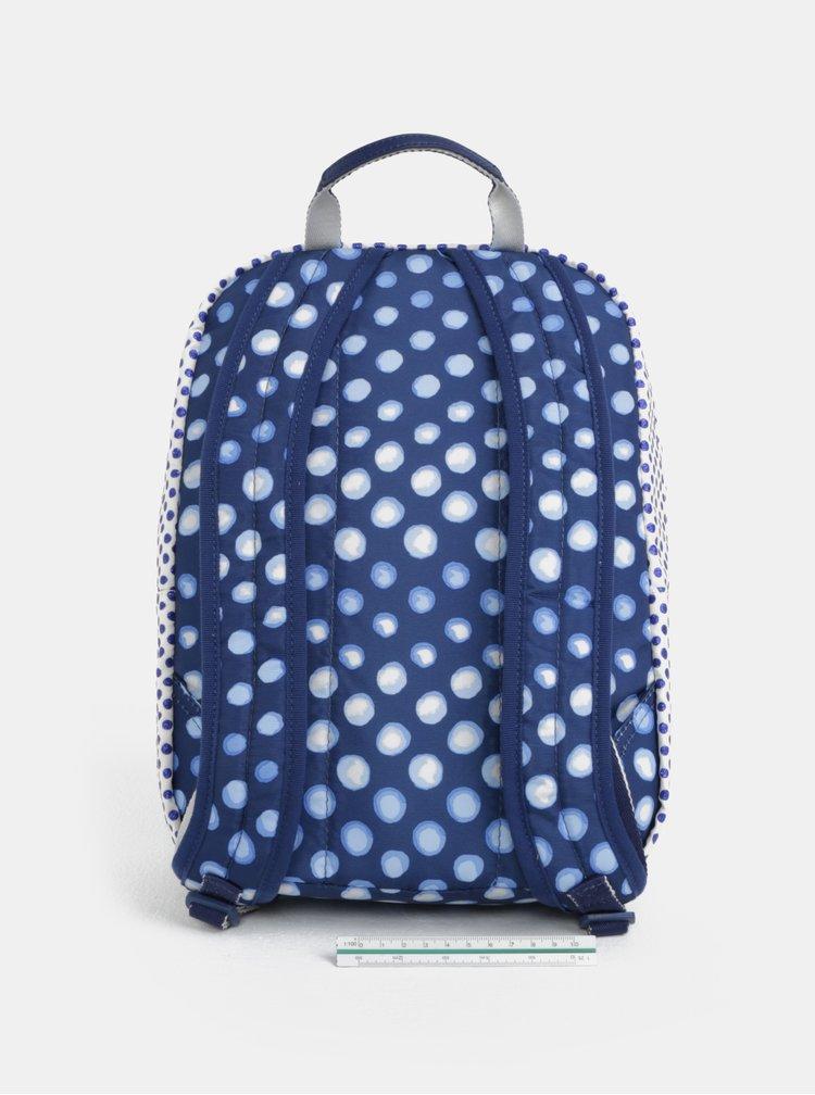 Modro-bílý dámský puntíkovaný batoh Cath Kidston