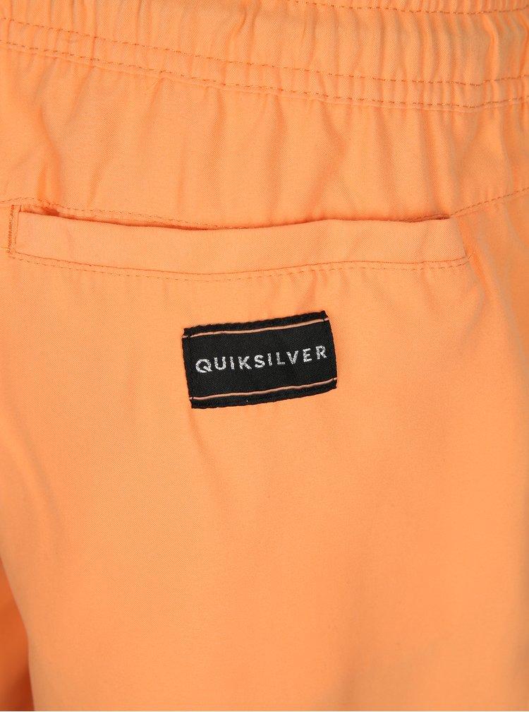 Oranžové pánské plavky Quiksilver