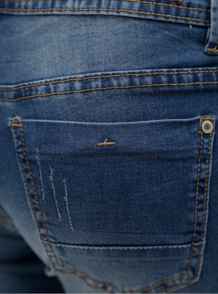 Modré džínové kraťasy s nízkým pasem Haily's Jenny