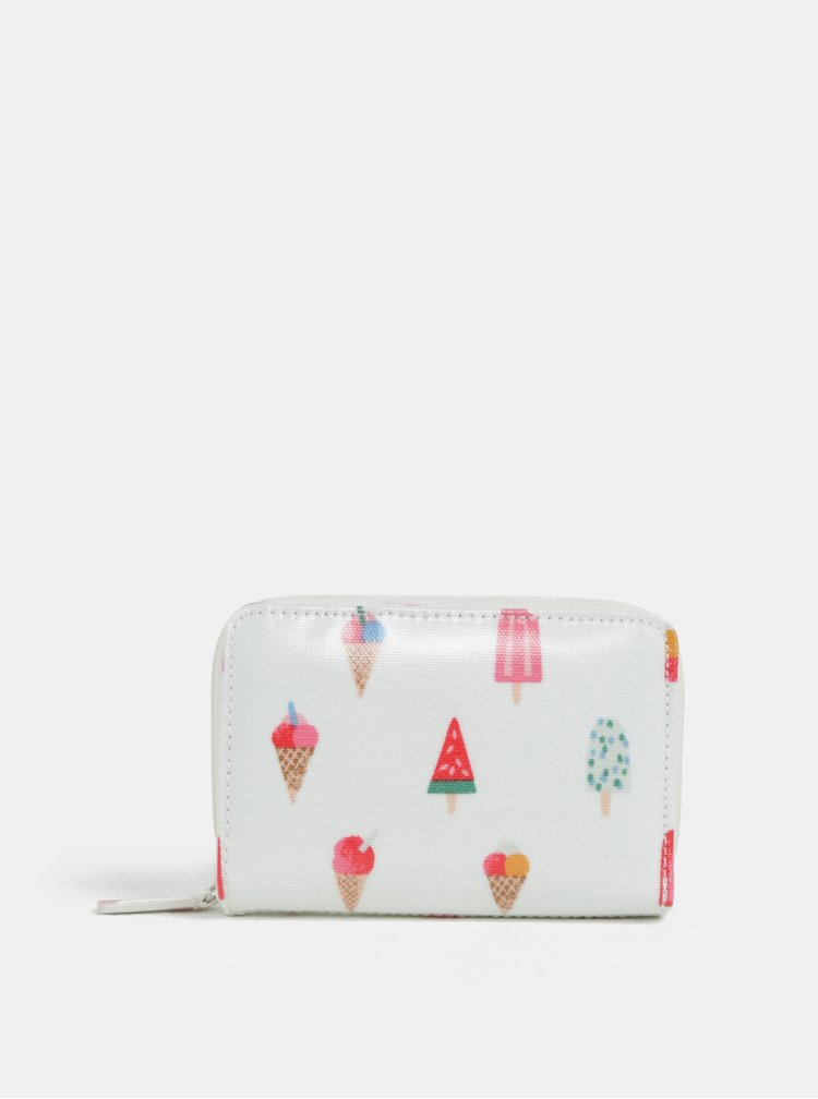 Bílá peněženka s motivem nanuků Cath Kidston