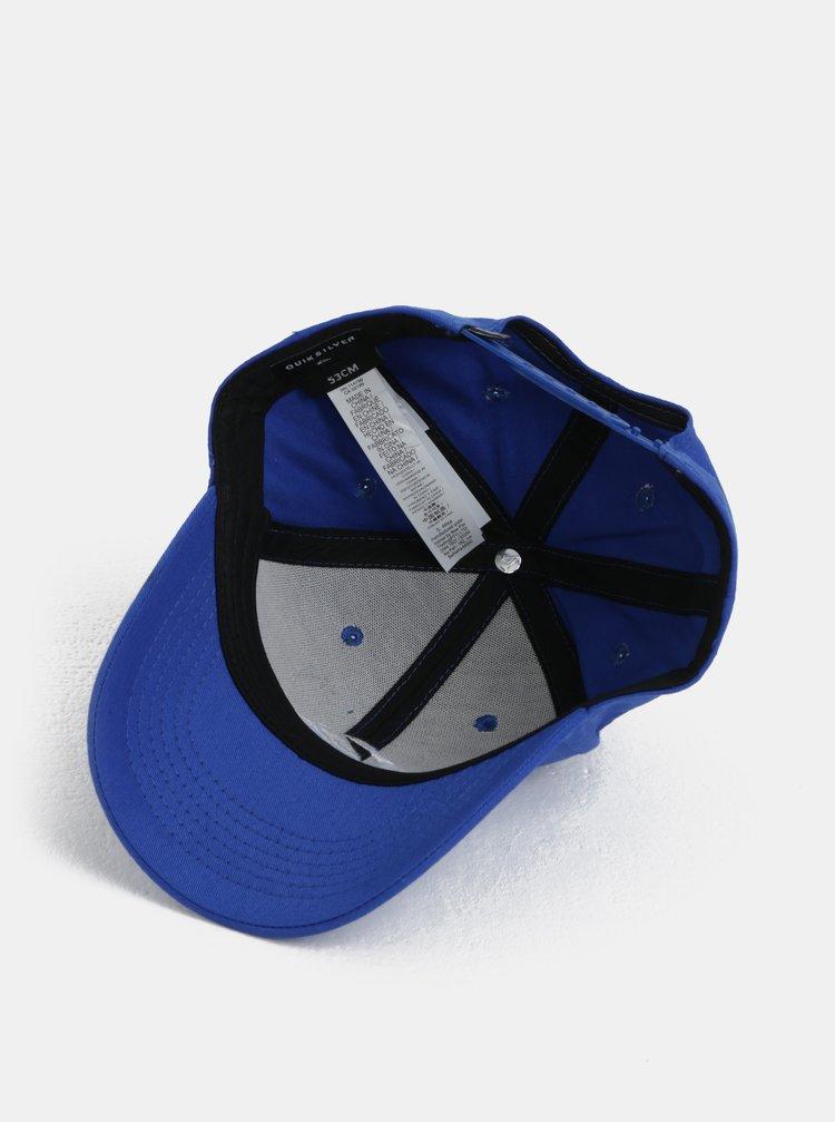 Modrá klučičí kšiltovka s logem Quiksilver