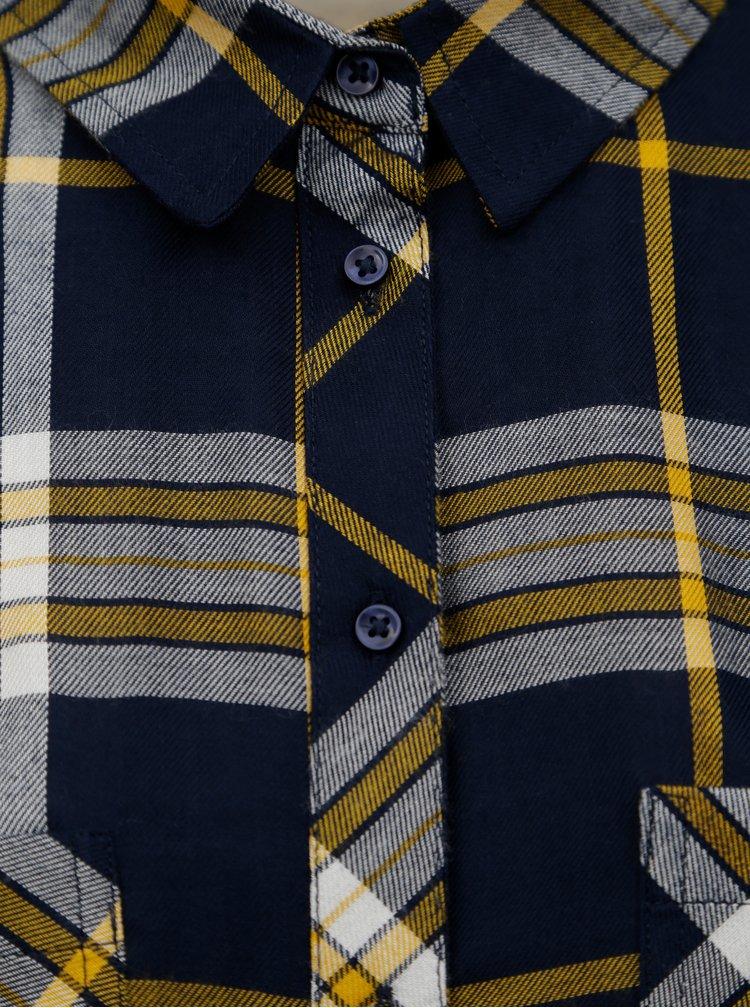 Camasa galben-albastru in carouri TALLY WEiJL