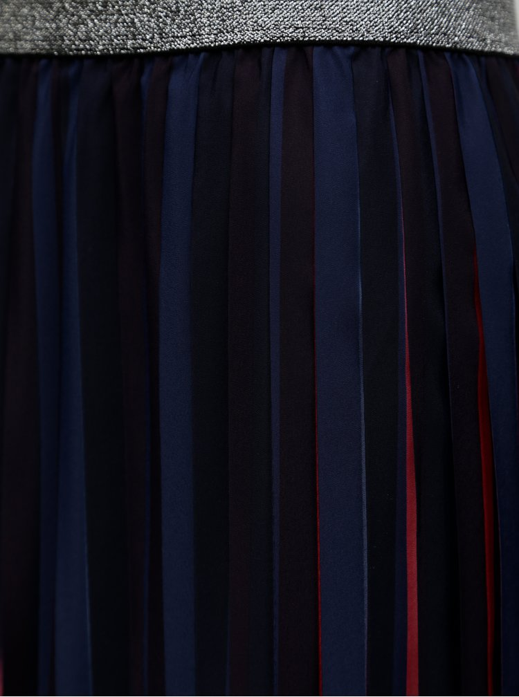 Tmavě modrá plisovaná sukně Cath Kidston