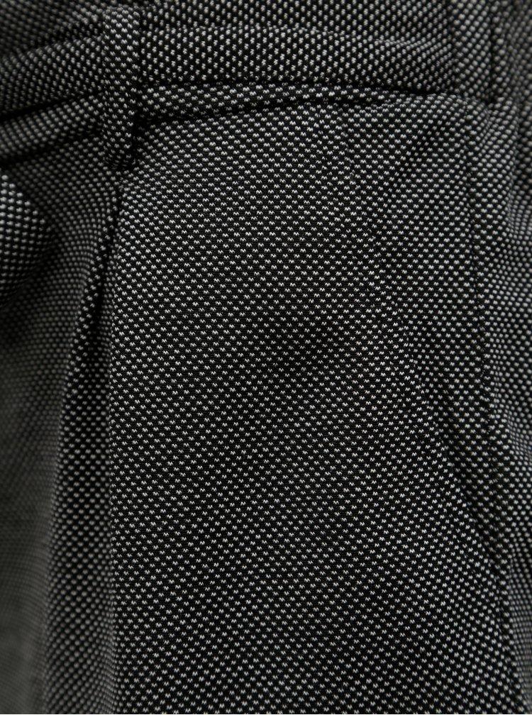 Bílo-černé kraťasy se zavazováním v pase TALLY WEiJL