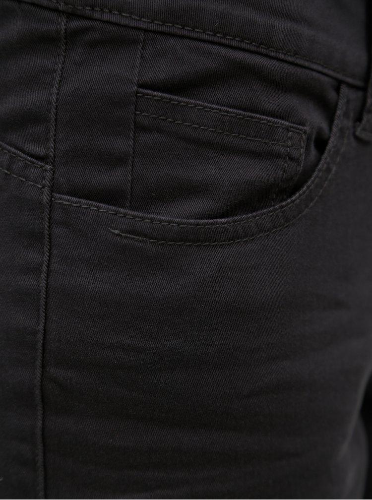 Tmavě šedé 3/4 slim fit džíny s.Oliver