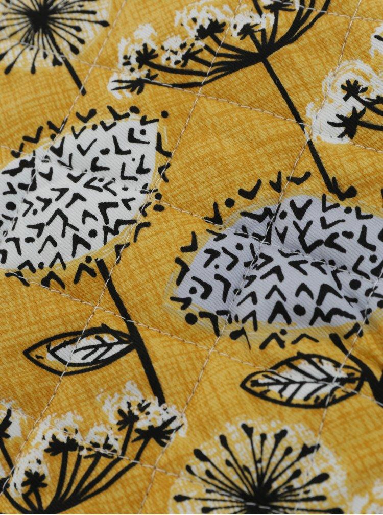 Hořčicová chňapka s květovaným motivem Cooksmart