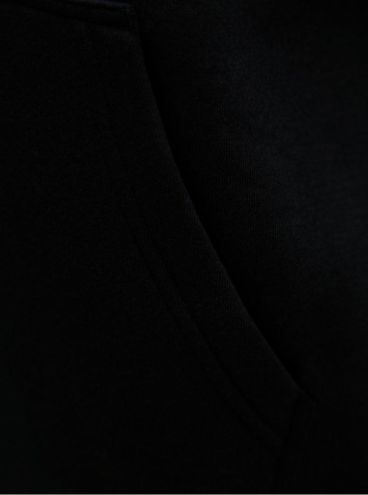 Černá dámská mikina s kapucí a potiskem Nike Rally