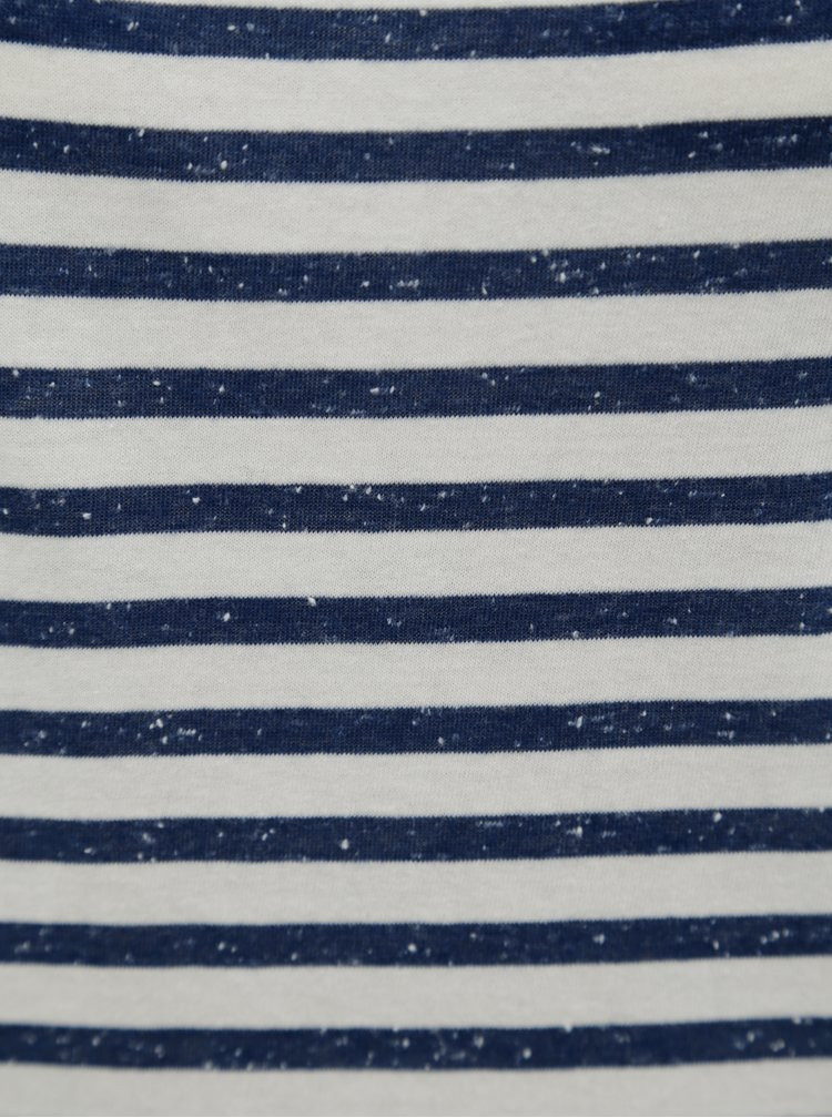 Modro-krémové pruhované maxišaty O'Neill