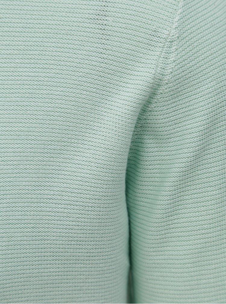 Světle zelený lehký svetr Dstrezzed