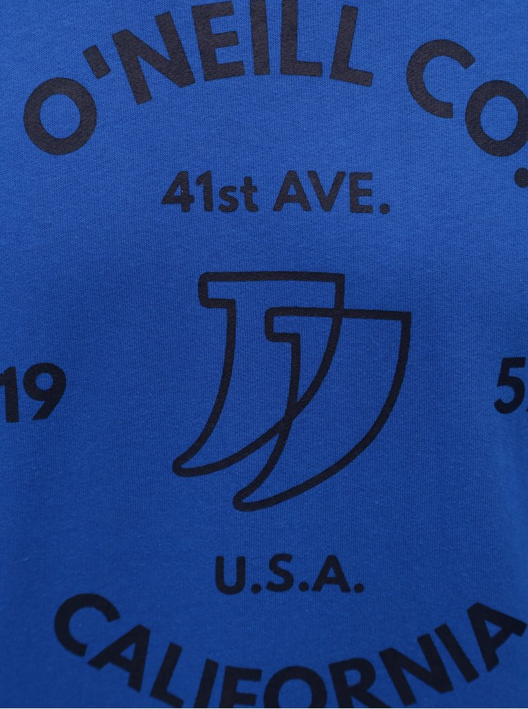 Modrá pánská mikina s potiskem O'Neill Boulevard