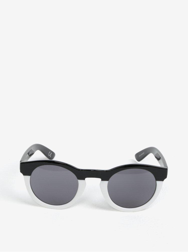 Bílo-černé dámské sluneční brýle VANS Lolligagger
