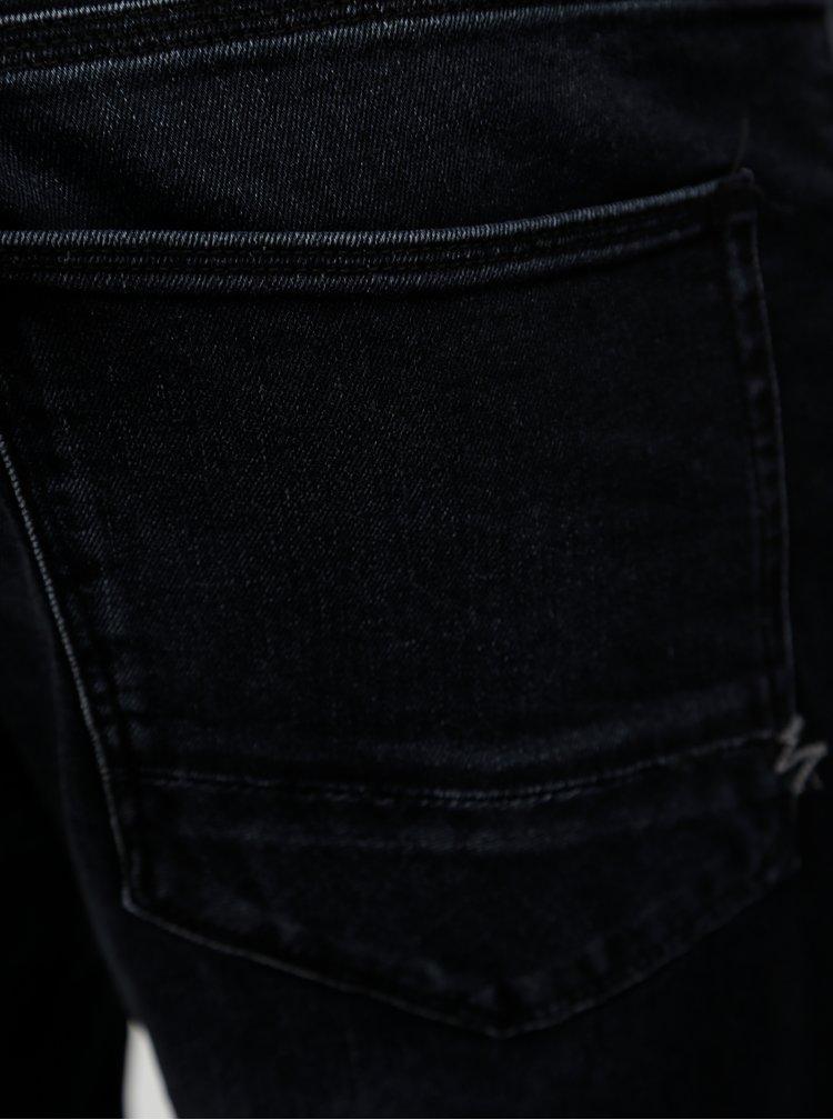 Tmavě šedé slim fit džíny Dstrezzed