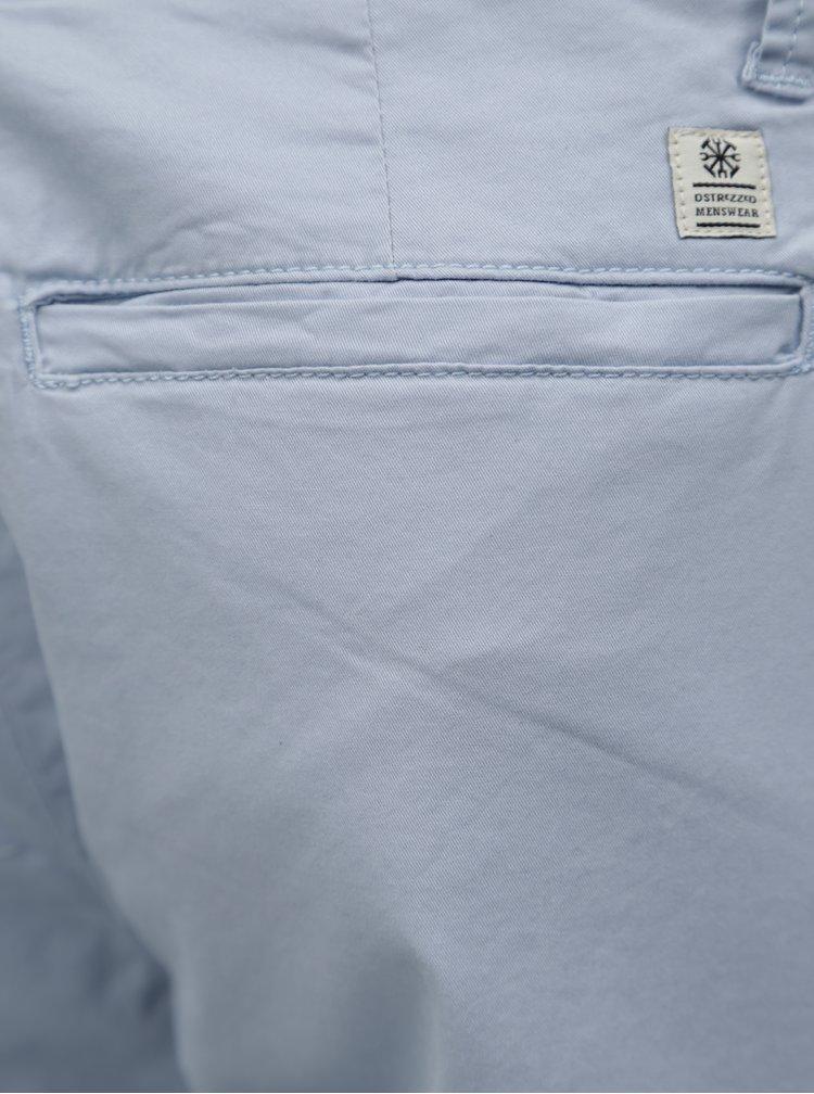 Pantaloni chino albastru deschis cu curea Dstrezzed